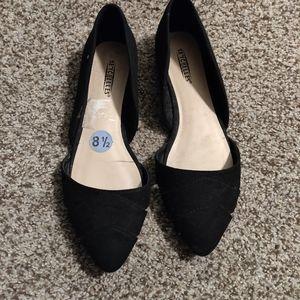 Seychelles Black Slip on Shoe